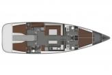 Яхта Бавария 45 2011 компановка